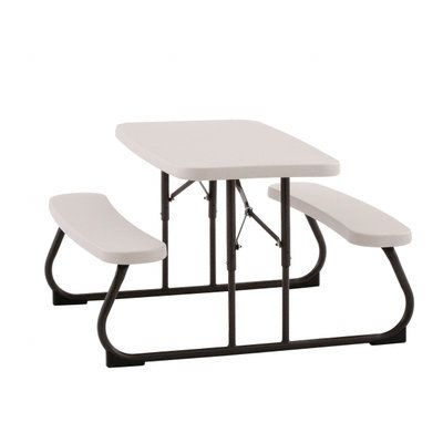 Lifetime In X In Kids Picnic Table With Benches - Home depot kids picnic table