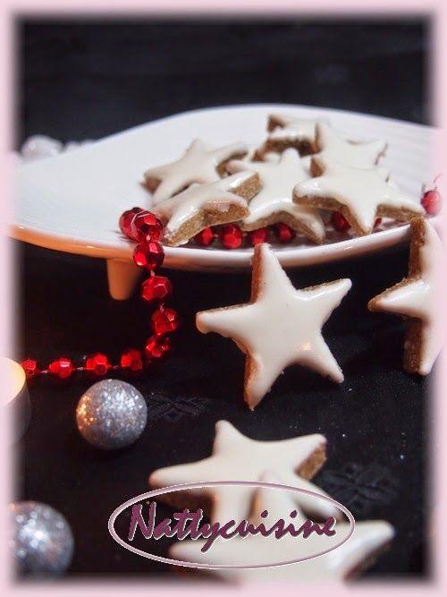 Les Zimtsterne sont des biscuits traditionnels qu'on offre en général aux fêtes…