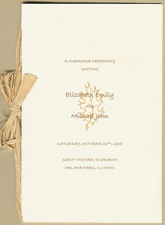Custom Wedding Program Sample Ceremony Pinterest Wedding - wedding agenda sample