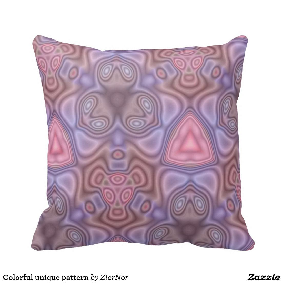 Colorful unique pattern pillows