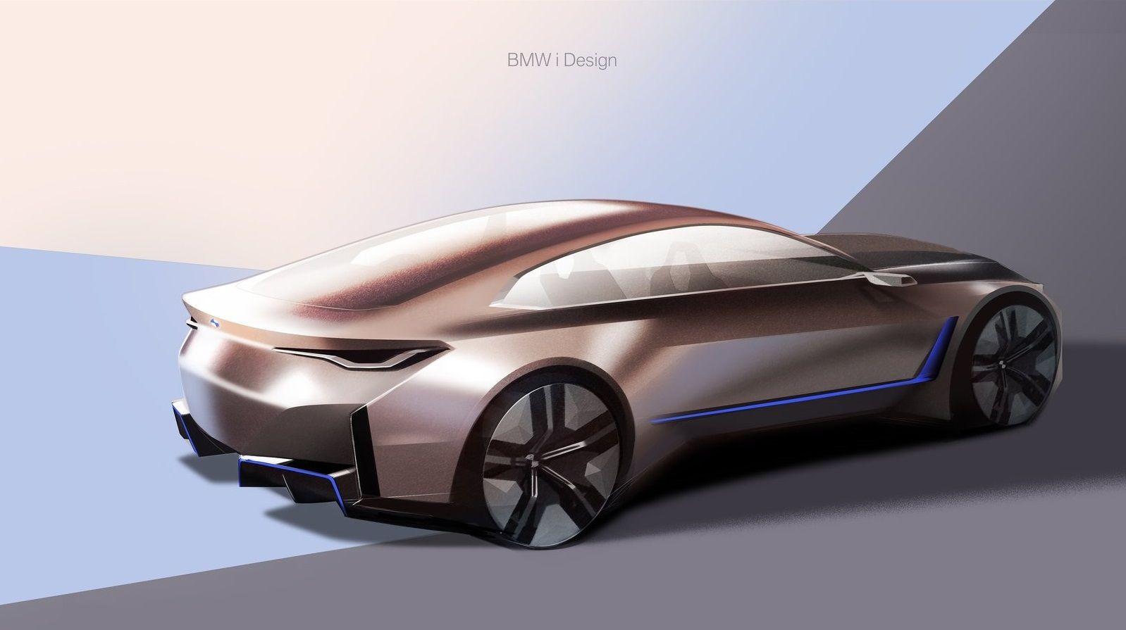 2020 Bmw I4 Concept In 2020 Bmw Design Bmw Concept Bmw