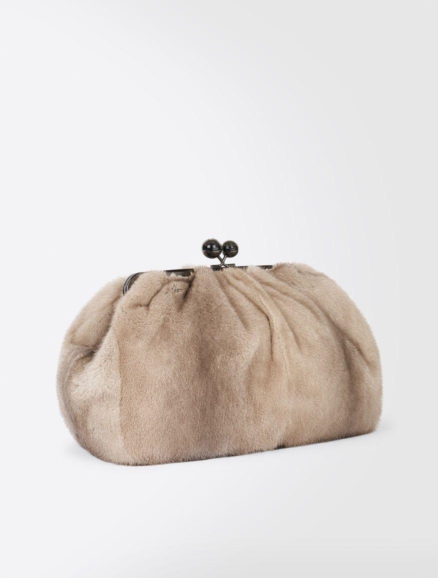 b44a3e3fce1be Pasticcino Bag Maxi in visone Weekend Maxmara Max Mara