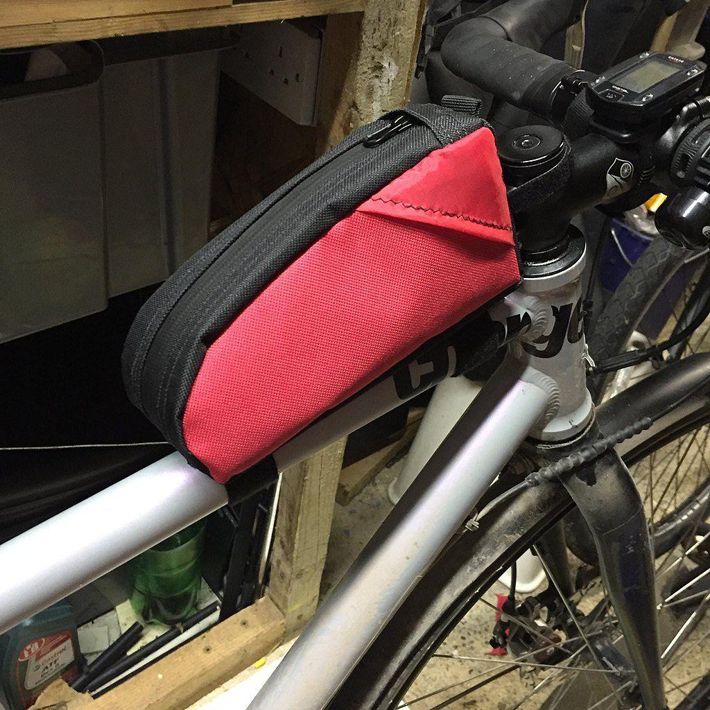 Diy Top Tube Bag For Bikepacking Touring Diy Tops Bikepacking