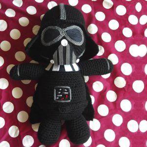 Amigurumi Darth Vader De La Guerra De Las Galaxias Patrón Gratis