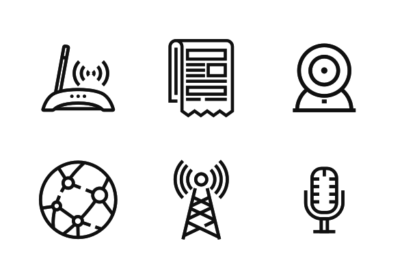 Communication Icons By Icons Network Communication Icon Communication Icon