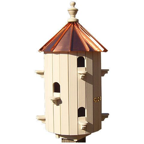 10 Apartment Martin Birdhouse Low Roof Wooden Bird Houses Bird Houses Bird House
