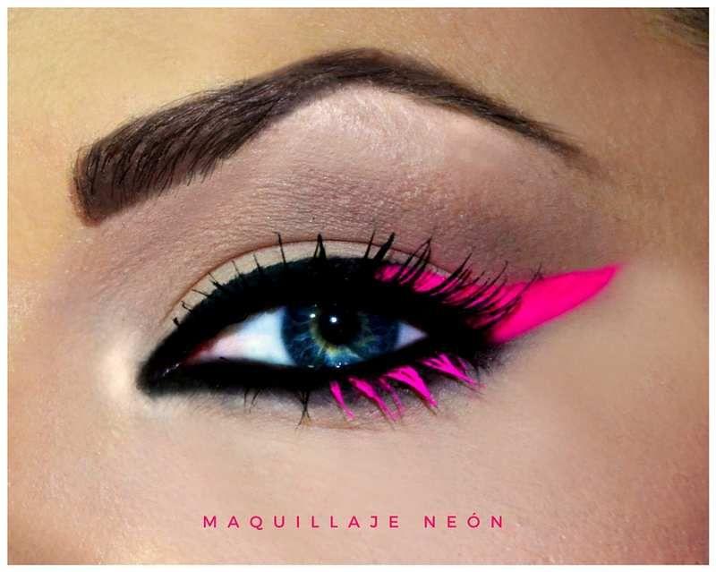fe96f4328 5 maneras de usar maquillaje neón | MAQUILLAJE | Neon maquillaje ...