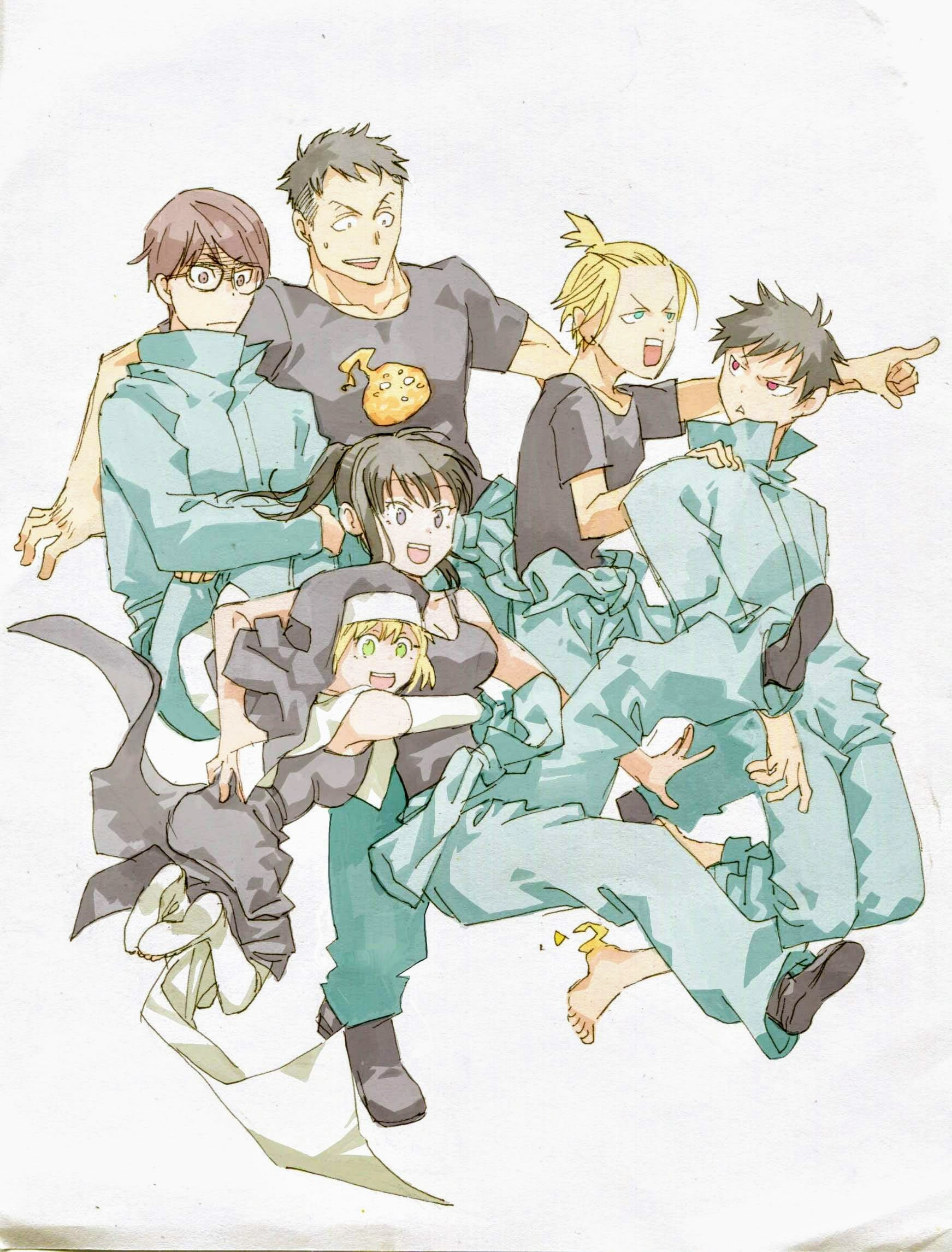 Fire Force FF Fanart Anime Manga ╳Subscribe╳Share╳GG
