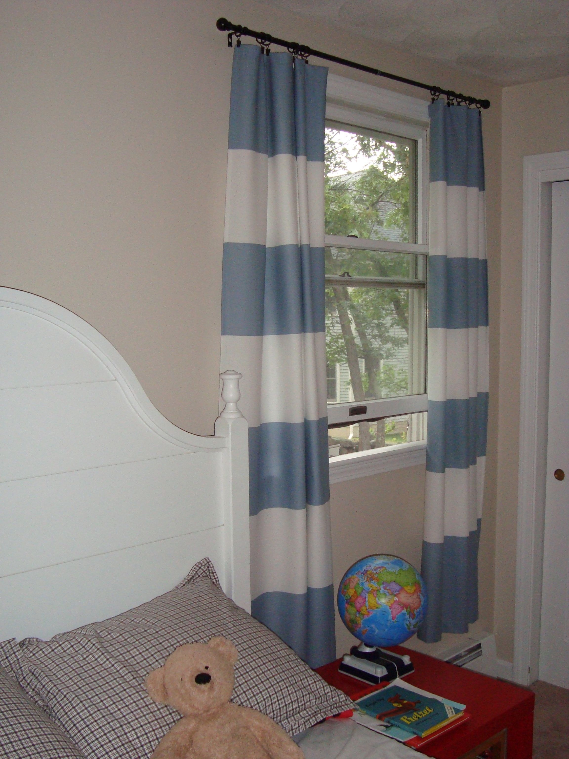 Contemporary window shade with horizontal striped curtains penneys curtains with horizontal striped curtains