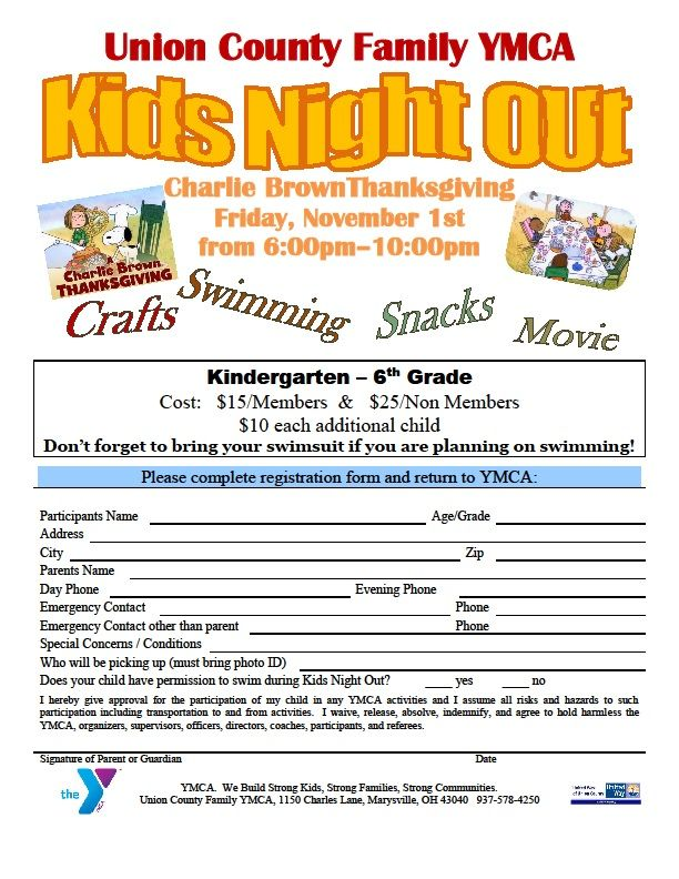 Parents....enjoy a night out while your kids have fun at our Charlie ...