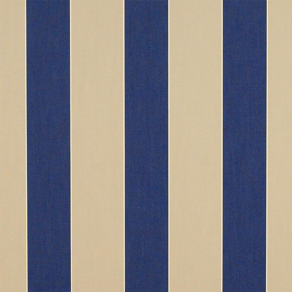 Sunbrella Canvas Block Stripe Mediterranean 4921-0000 46