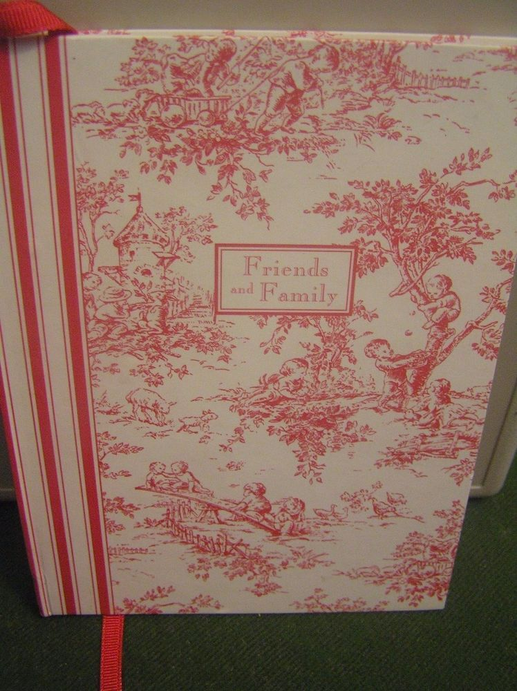 christmas card list book friends and family c r gibson hardcover