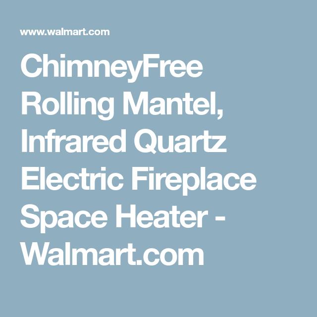 Home Improvement Electric Fireplace Space Quartz