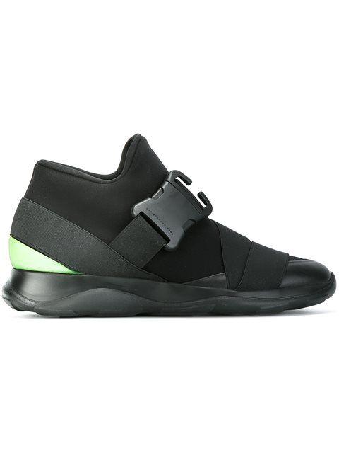 Christopher Kane Designer Shoes, Neoprene High Top Women's Sneakers