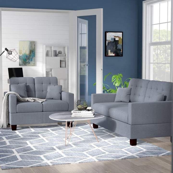 Zipcode Design Cheyne 2 Piece Living Room Set in 2019 ...