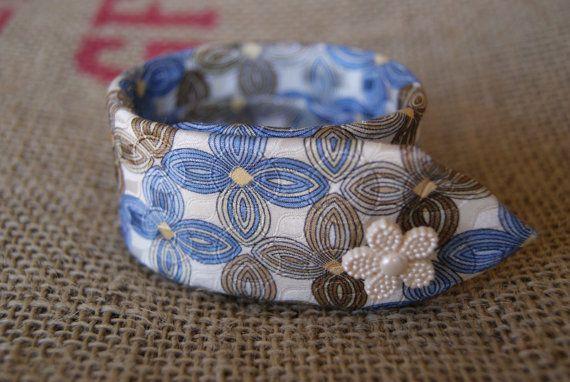 Necktie Bracelet by Ramshackles on Etsy, $9.95