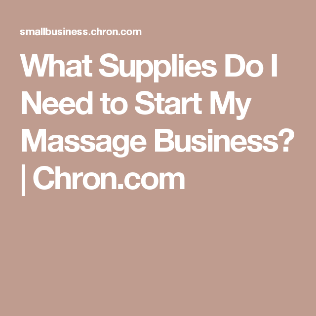 massage business plan example pdf