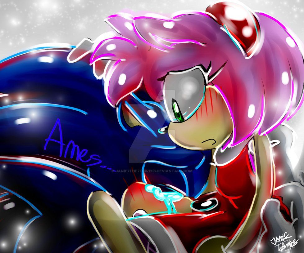 Sonic Don 39 T Leave Me Ever Amy S Sonic Why Are You