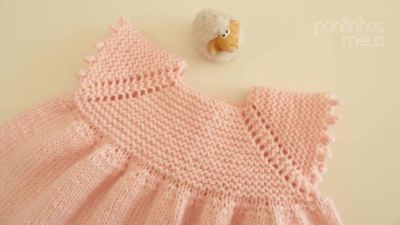 pontinhos meus: Vestido bebé - Sweet baby dress