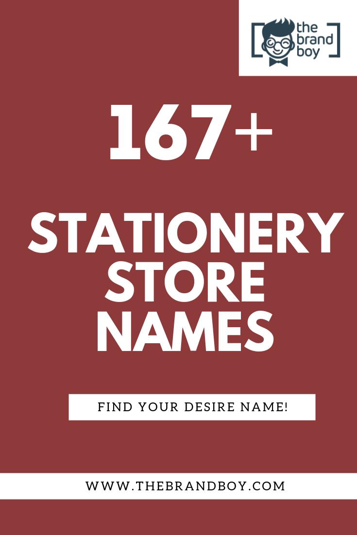 Sanitary Names : sanitary, names, Creative, Stationery, Store, Names, Ideas, TheBrandBoy.com, Store,, Ideas,