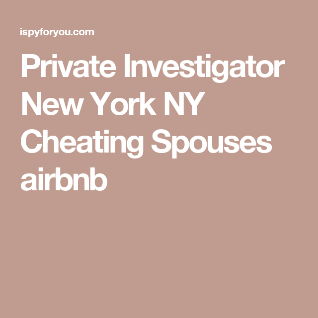 cheating spouse new york
