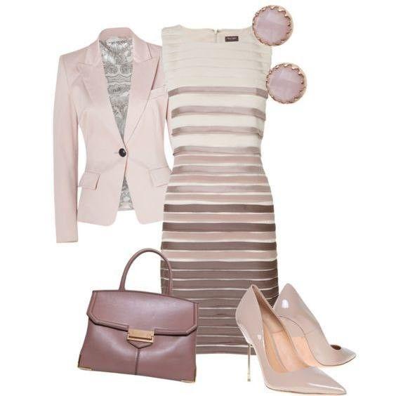 7 ideas de outfits elegantes. Ideales para ir a la oficina...