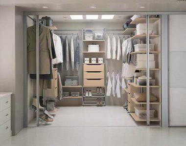talk about organizing! Walk in closet, Design, Kitchen