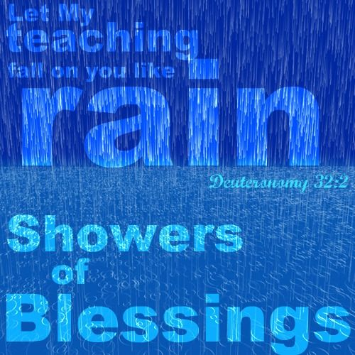 Rain From Heaven Showers Of Blessing Famous Quotes Showers Of