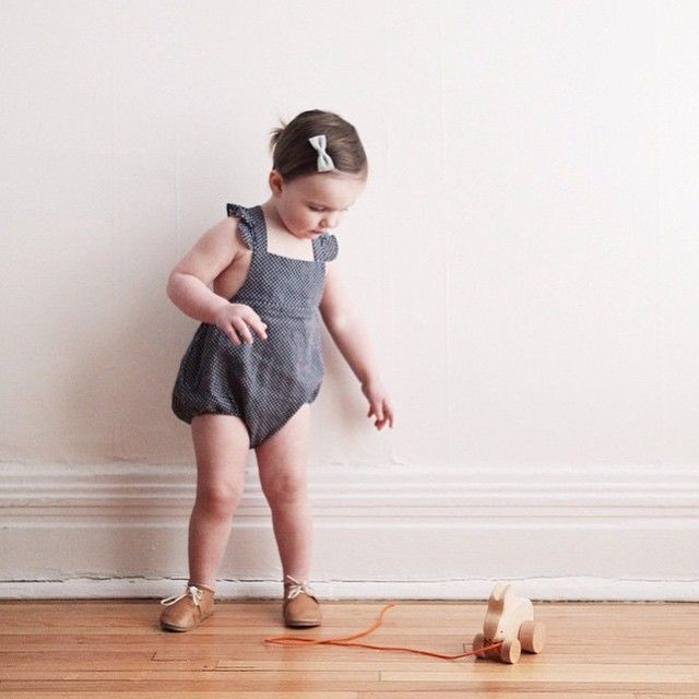 Fawn Shoppe / Love this @amandajanejones anais + I romper, and grimms pull along bunny