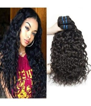 This is our latest #brazilianhair texture, Brazilian Italy wave. It is wet and wavy hair, the curl holds after washing.