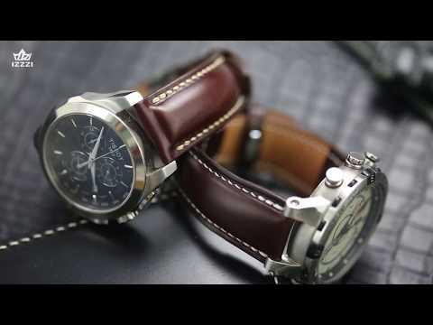 How To Handcraft A Leather Watch Band 来自中国的手工皮具匠人带你纯