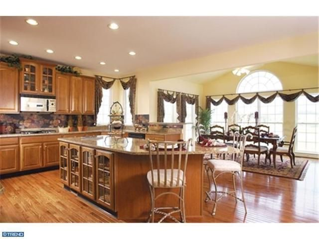 Epic Kitchen With Adjoining Dining Room