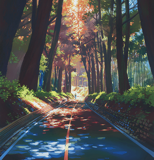 Weheartit Forest Images Google Search Via Tumblr Anime Scenery Scenery Wallpaper Landscape Art