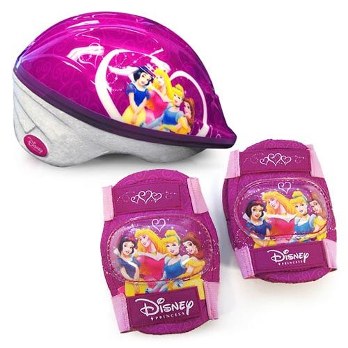 Princess Girls  Toddler Helmet and Pads Value Pack - Walmart.com 508f62dd50004