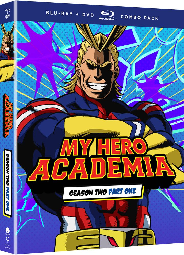My Hero Academia Season 2 Part 1 Bluray/DVD Hero