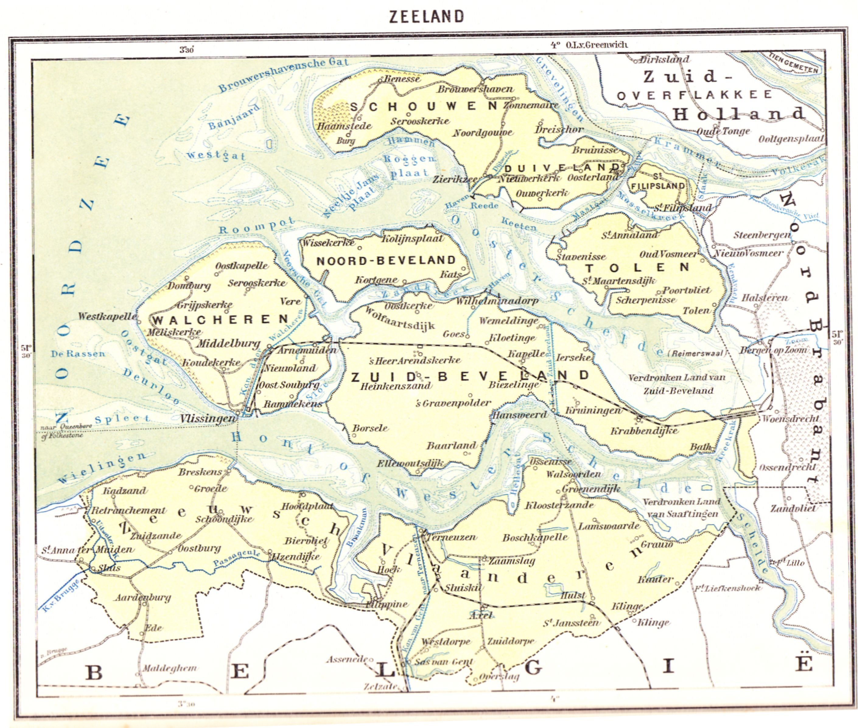 1919 Kleine Bosatlas Wolters-Groningen