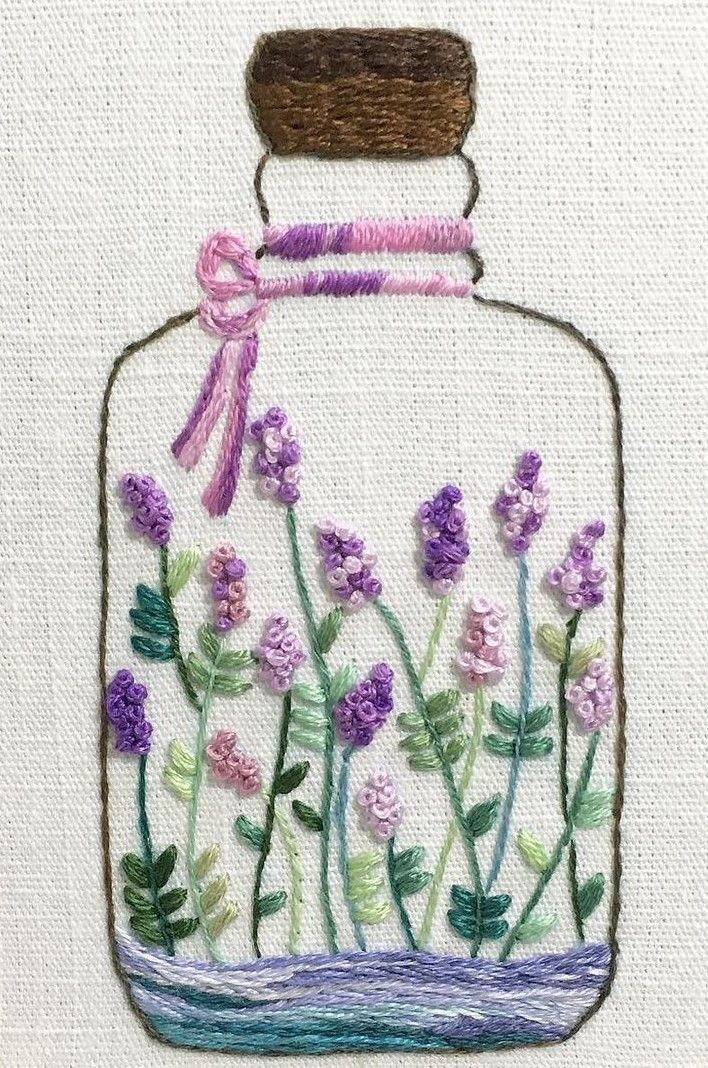 Pin by Celeste Collazo on embroidery   Bordado, Bordado a mano ...