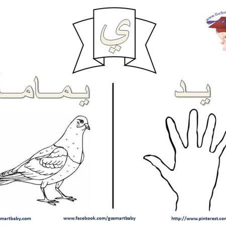تلوين الحروف العربية حرف الياء ي Harfler