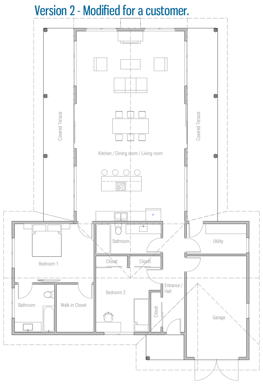 Customer Home Plan Ch613 House Plans How To Plan New House Plans