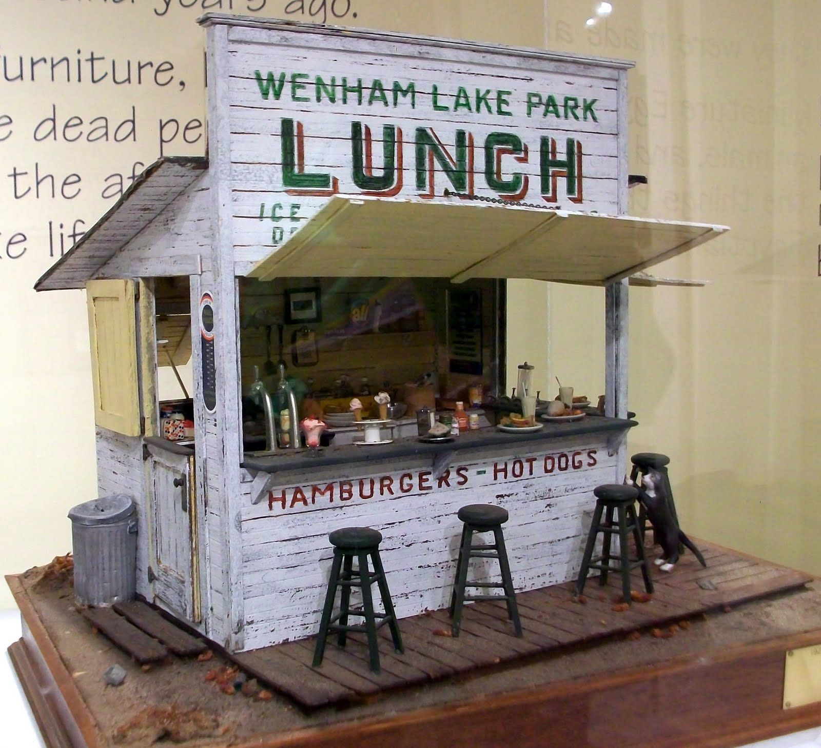 Marquis Miniatures: Rustic Realism: Dollhouse Exhibit At
