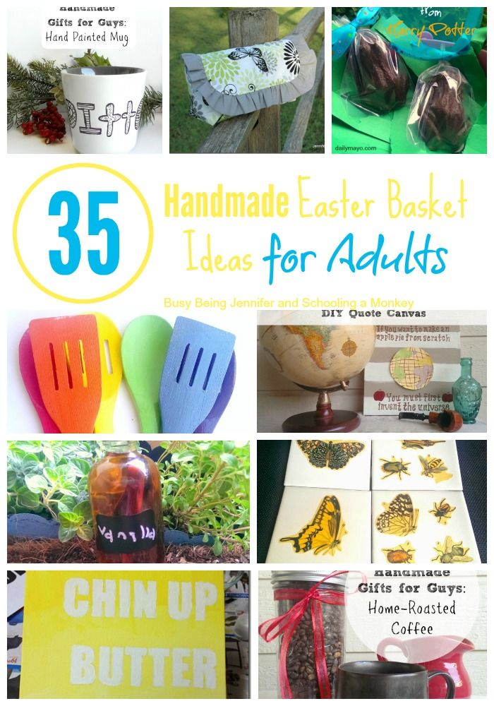 Handmade easter basket ideas for adults basket ideas easter have adults teens or tweens this easter these easter basket ideas for adults negle Choice Image