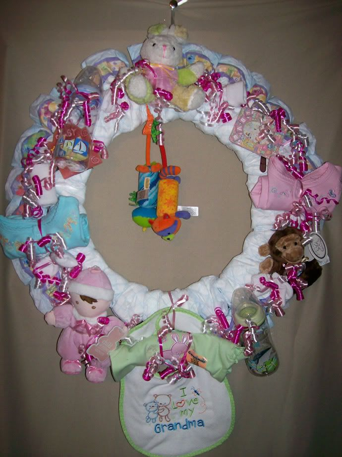 Pinterest Diaper Wreath Pictures To Pin On Pinterest Pinmash