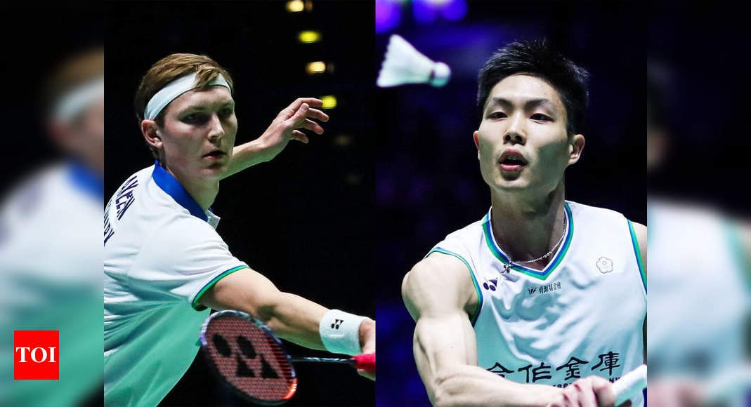News Sports News Badminton Taiwan S Chou Tien Chen To Face Viktor Axelsen In All England Championships Final In 2020 Sports News Sports Finals