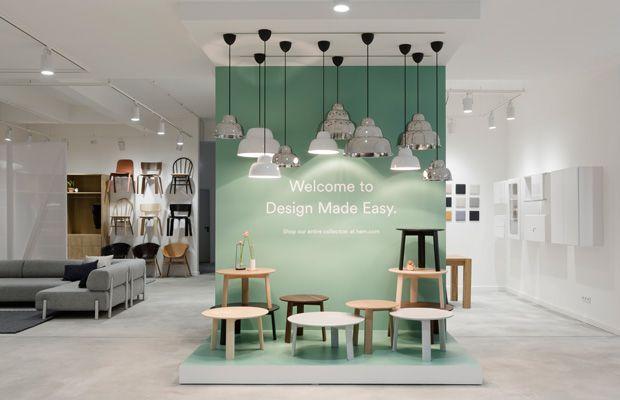 einrichtungsfans aufgepasst hem er ffnet ersten flagship store in berlin store interior. Black Bedroom Furniture Sets. Home Design Ideas