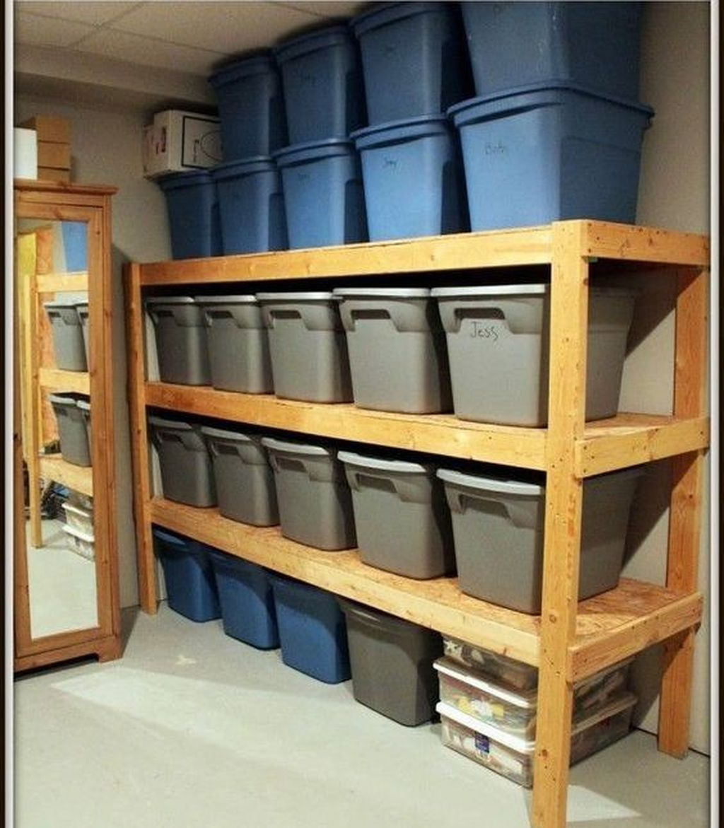 49 clever garden shed storage ideas cheap basement on new garage organization ideas on a budget a little imagination id=82069