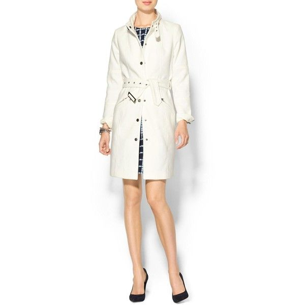 Tinley Road Long Line Funnel Neck Coat and other apparel, accessories and trends. Browse and shop related looks.