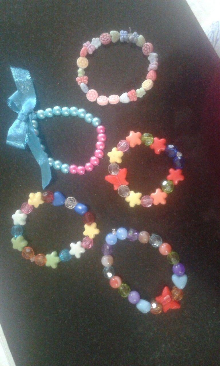 Pulsera niñas elaborado manos especiales pulseiras infantis