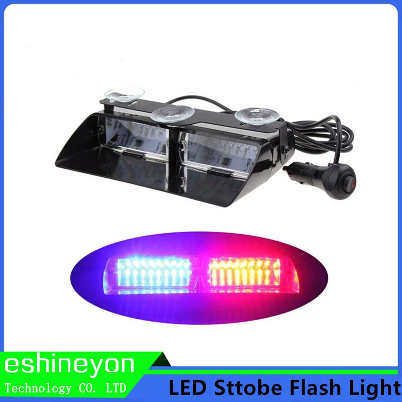 Strobe Lights For Cars Extraordinary Car Styling 48W Led Strobe Light Signal Flash Warning Light 2018