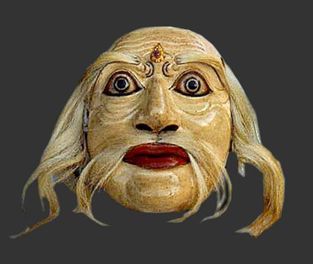 Greek Theatrical Masks | Welcome to Thiasos-Ancient Greek theatre ...