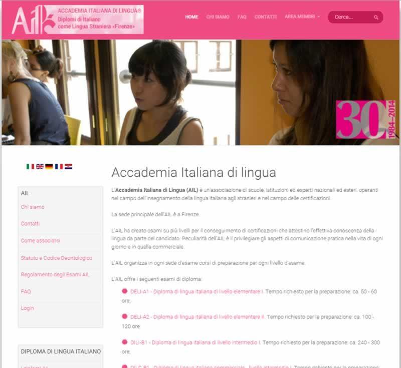 Entes certificadores de la lengua italiana: Accademia Italiana di Lingua